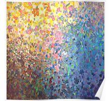 Pixel Petals Poster