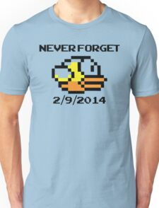 Never Forget Flappy Bird Unisex T-Shirt