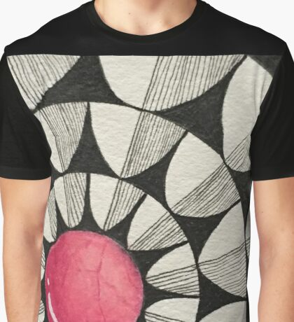 Popping in Pink v2 Graphic T-Shirt