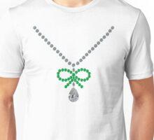 Bow Emerald Necklace Unisex T-Shirt