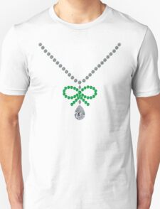 Bow Emerald Necklace T-Shirt