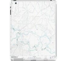 USGS TOPO Map Arkansas AR Moro Bay 20110726 TM iPad Case/Skin