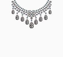 Lots of Diamonds Necklace Unisex T-Shirt