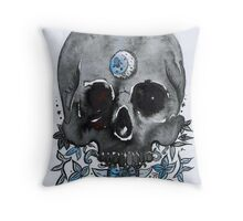 black moon Throw Pillow