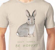Don't Worry, Be Hoppy! Unisex T-Shirt