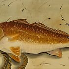 Redfish In The Boat! by Phyllis Beiser
