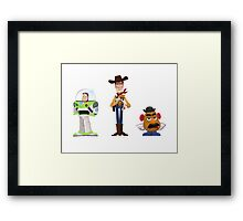 The Good, the Bad and the Grumpy Framed Print