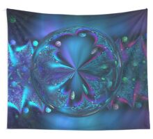 mirror ball Wall Tapestry