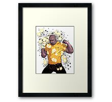 Fight Cage! Framed Print