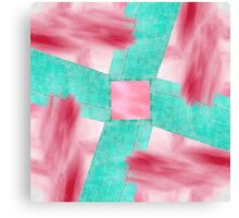 Abstract Wall and Sky Canvas Print