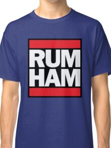 RUM HAM // Mac & Frank // Original High Quality Classic T-Shirt