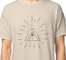 A Scanner Darkly Illuminati Symbol Classic T-Shirt