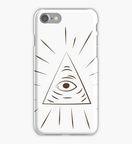A Scanner Darkly Illuminati Symbol iPhone Case/Skin