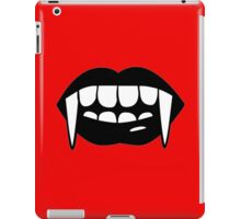 keep your mouth iPad Case/Skin