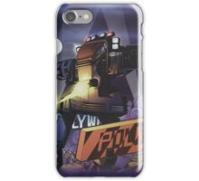 Future Cop LAPD by Juvaun Kirby iPhone Case/Skin