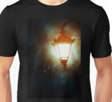 Street Lamp at Rainy Night 2 Unisex T-Shirt