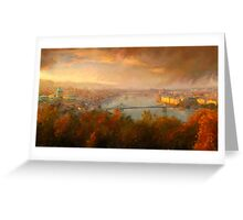 View of Budapest Greeting Card