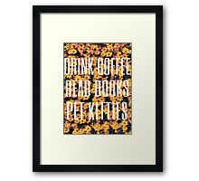 My Favourite Things Framed Print