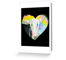 The Cow Who Freed Himself Greeting Card