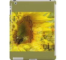 Sunflower Art iPad Case/Skin