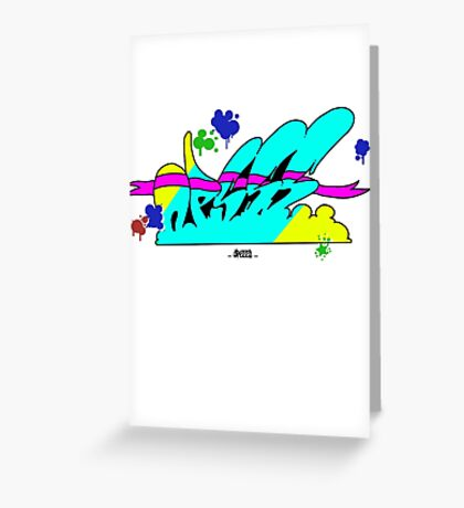 color's explosion Greeting Card