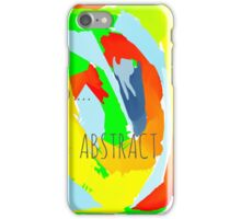 Abstract Life iPhone Case/Skin