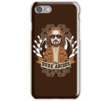 The Dude Abides The Big Lebowski iPhone Case/Skin