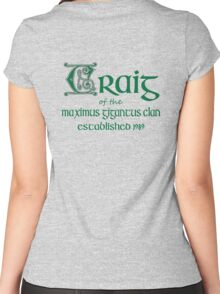 Craig Celtic Irish Legend Birth Year Women's Fitted Scoop T-Shirt