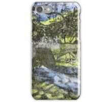 At the pond IV iPhone Case/Skin
