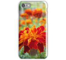 Red Marigolds iPhone Case/Skin