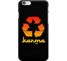 Recycle KARMA iPhone Case/Skin