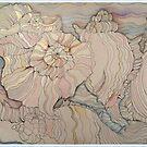 SHELLS IN LINE 21 by Gea Austen