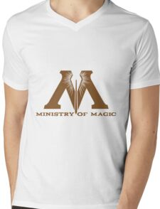 Ministry of Magic Mens V-Neck T-Shirt
