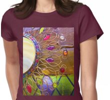 Ornate patterns abstract photograph Womens Fitted T-Shirt