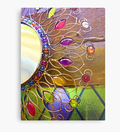 Ornate patterns abstract photograph Metal Print