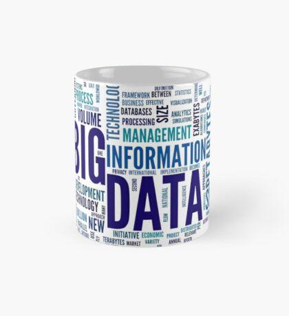 big data cloud Mug