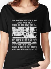 Patriotic Military Shirt Women's Relaxed Fit T-Shirt