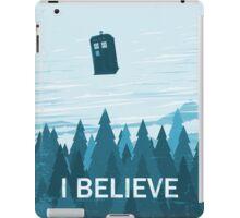 I Believe iPad Case/Skin