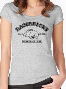Sunnydale High Razorbacks Women's Fitted Scoop T-Shirt