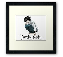 Death Note  Framed Print