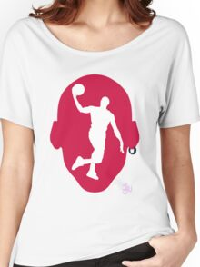Basketball Icon Dunk CHI2 Women's Relaxed Fit T-Shirt