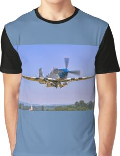 P-51C Mustang 43-25147 NL487FS taking off Graphic T-Shirt