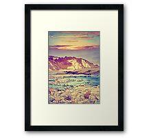 Sunset at Yuke Framed Print