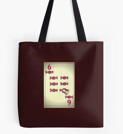 6 de bombones Tote Bag