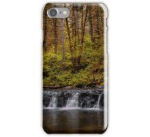 We All Fall Sometimes ~Oregon cascades ~ iPhone Case/Skin