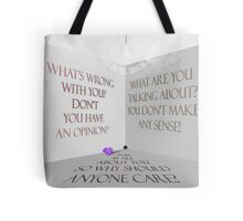 Shut your trap edicts Tote Bag