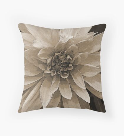 ~Dahlia Daze~ Throw Pillow