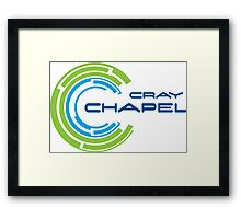 cray chapel programming language Framed Print