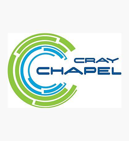 cray chapel programming language Photographic Print