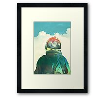 God is an astronaut Framed Print